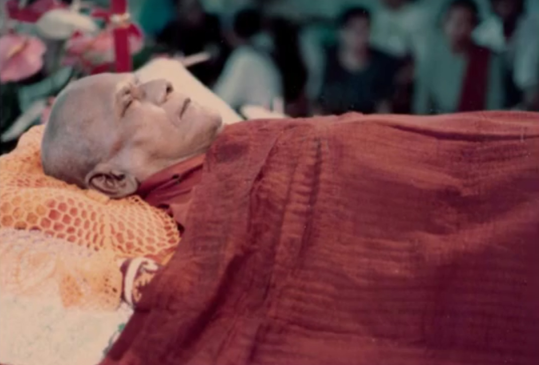 Mahasi Sayadaw passed away pic